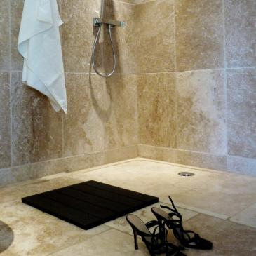 receveur de douche en pierre 90x90x3cm venezia salle de bain ekolux. Black Bedroom Furniture Sets. Home Design Ideas